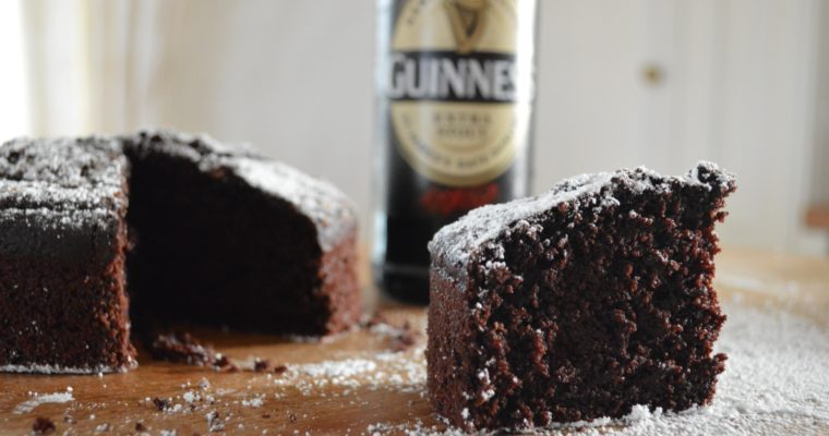 [I did it…] Dark chocolate Guinness cake