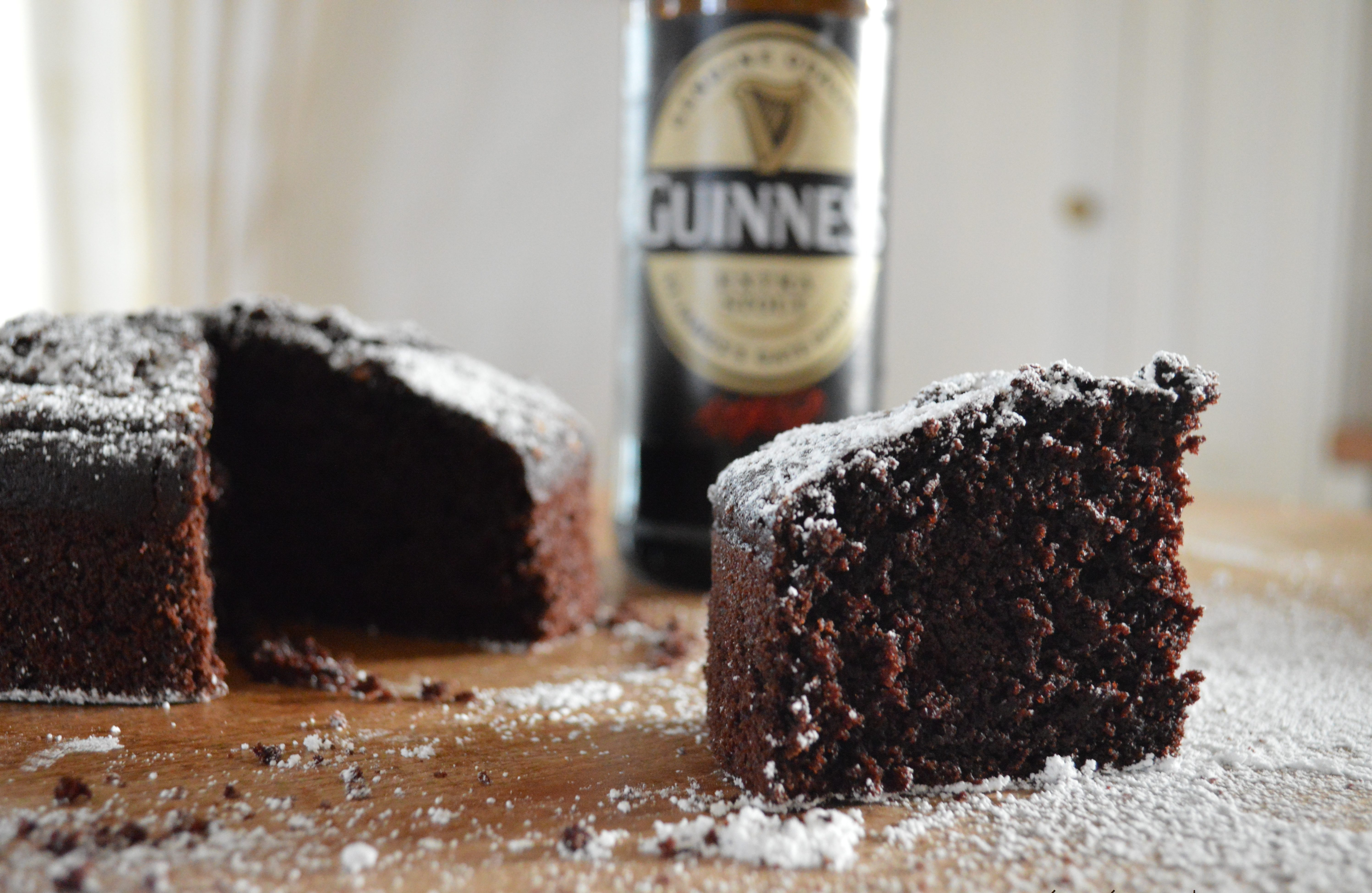 [I did it…] Dark chocolate Guinness cake