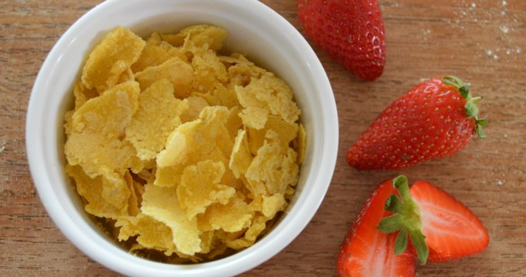 [Breakfast is the best] Homemade Cornflakes