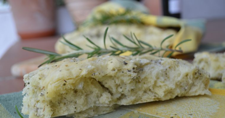 [Argentinian way of BBQ: Asado] Onion Focaccia