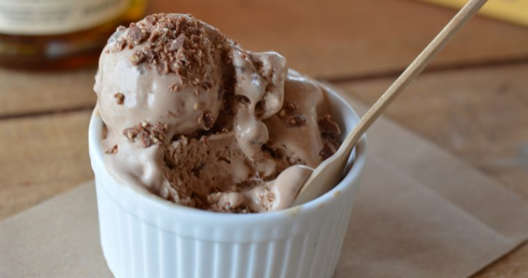 [sundowner, that makes not only one man very happy] Whiskey Toblerone ice cream