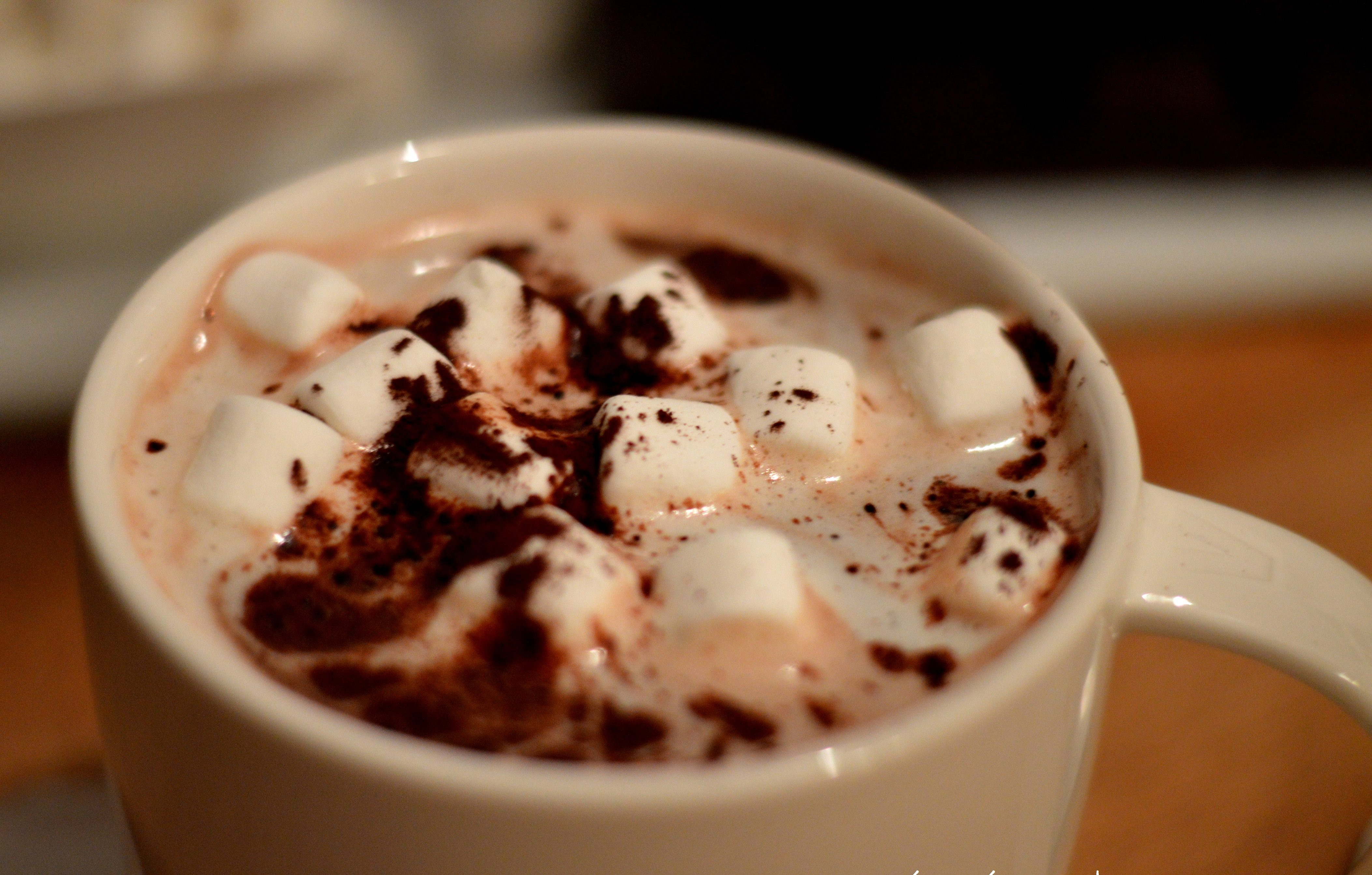 [cold days and cozy evenings] Marshmallow hot chocolate