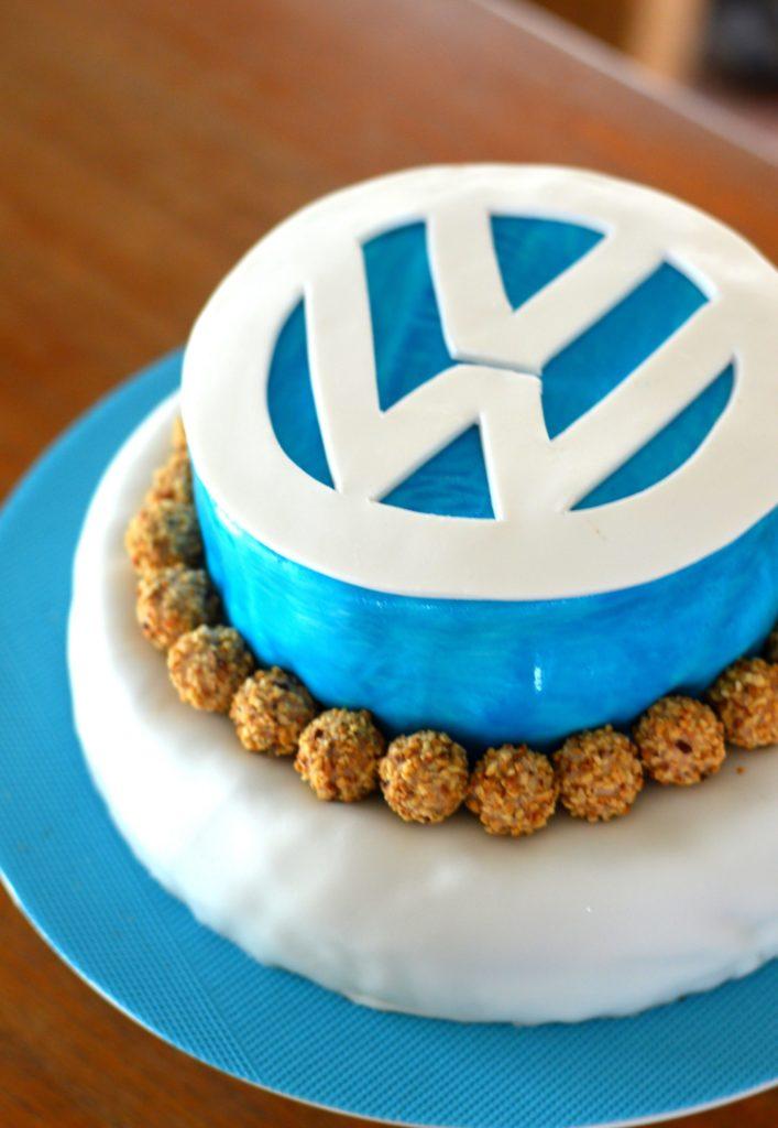 Happy Birthday Daddy Volkswagen Birthday Cake Caprisserie