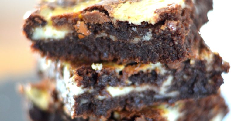 [Brownie + cheesecake = endless lovestory] Double chocolate cream cheese Brownies