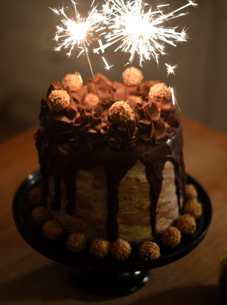 [Sweeten up the holiday countdown] Chocolate Hazelnut Cake ...