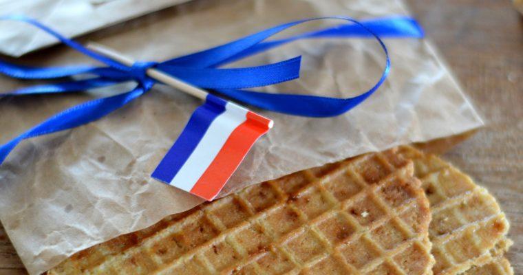 [Traditional Dutch waffles with caramel filling] Stroopwafels recipe